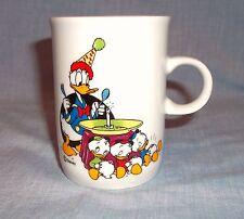 Disney Donald Duck & Nephews Birthday Party China Cup Mug Ter Steege Holland