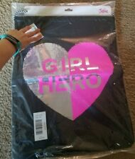 "Girl's Justice flip sequin ""girl hero"" tote bag NWT (VERY LAST ONE)"