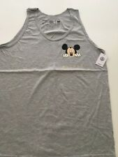 New NEFF Men's Mickey Mouse Limit Edition Disney Tank Top Tee Shirt Size Large