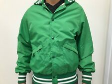 Vintage 60s 70s King Louie Bomber Bowling Jacket - Size M - Green - Made in USA
