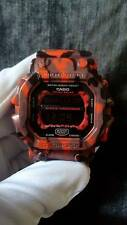 Vintage G-Shock King GX-56 GWX GXW Army Military Red Gray Black Camouflage Solar
