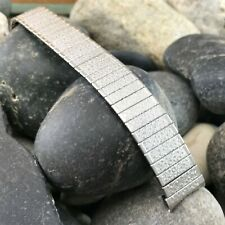 1960s 17.25mm UniFlex USA Stainless Steel Old-Stock Expansion Vintage Watch Band