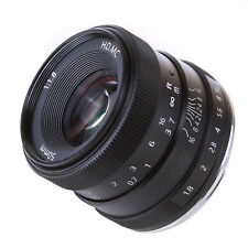 50mm F/1.8 Manual Focus APS-C Lens For Fujifilm Fuji X-mount X-M1/ X-T1/T10  FF