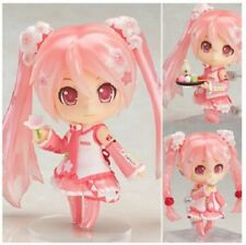 "Anime Sakura Hatsune Miku 4""/10cm PVC Figure Toy Gifts Nendoroid #500"