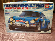 Alpine Renault A110 Monte Carlo 1971 Maquette Tamiya 1/24 COMPLET 1971 MICHELIN