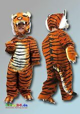 Costume tigre corporelle complète pour Carnaval et enfants jusqu'à 100 cm