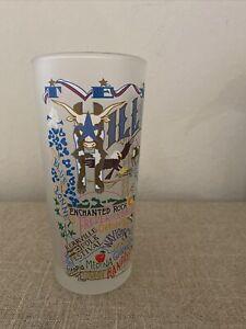 CATSTUDIO HIGHBALL DRINKING GLASS 2015 Texas Hill Country Bandera Fredericksburg