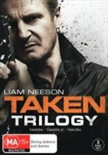 TAKEN Trilogy 1 2 3 : NEW DVD