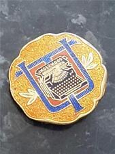 Rare Vintage Underwood Typewriter Enamel Advertising Pin Badge