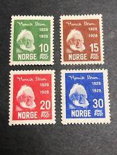 Norway Scott 132-35 Mint OG CV $24.50