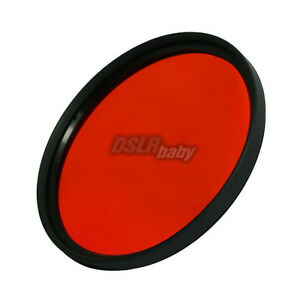 55mm Red Color Conversion Lens Filter Screw Mount for DSLR Digital Camera M55