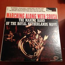 Marine Band Of Royal Netherlands Mary-marching Along-lp