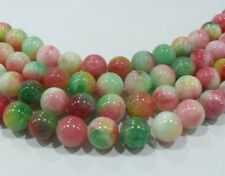 8mm Multicolor Kunzite Gemstone Round Loose Bead 15''AAA