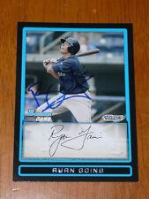 RYAN GOINS Toronto Blue Jays Signed 2009 Bowman Draft Card AUTO Autograph