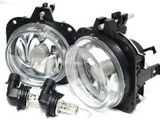 For 02-05 Eclipse 04-08 Galant Glass Driving Fog Light Lamp RL H Pair W/Bulb New