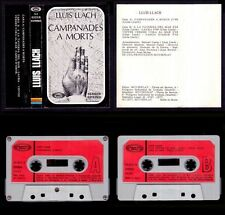 LLUIS LLACH - CAMPANADES A MORTS - SPAIN CASSETTE MOVIEPLAY 1977 - Excelente