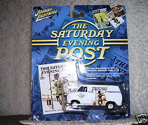 Johnny Lightning Chevy Van 1975 Saturday Evening Post Series