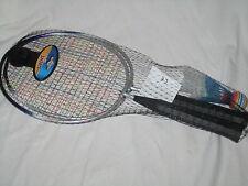 Badmintonschläger kurz Badminton Set MINI 2 Schläger 45 cm 2 Federbälle