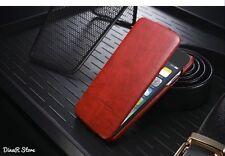Premium Flip Case für Apple iPhone 6S HandyHülle Tasche Hülle - Rot (11RO)