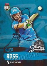 ✺Signed✺ 2015 2016 ADELAIDE STRIKERS Cricket Card ALEX ROSS Big Bash League