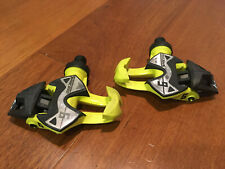 Time Xpresso I-Clic 6 Road pedals, Yellow with Cleats, Carbon Blade