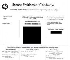 HP SMART ARRAY ADVANCE PACK 1 Server 1 Year 24X7 516471-B21