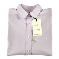 RM Williams Womens Nicole Long Sleeve Button Up Shirt Pink Pin Stripe Size 10