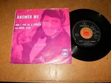 SOLOMON KING - ANSWER ME - DON'T YOU BE A SINNER - 45 PS BELGIUM / LISTEN - SOUL