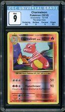New listing Pokemon Evolutions Charmeleon 10/108 Reverse Holo Cgc 9 Mint (Psa Bgs)