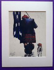 """Alexander Millar ~ Tartan Army  ~ Art Mounted Picture 14x11"""" FREE P&P"""