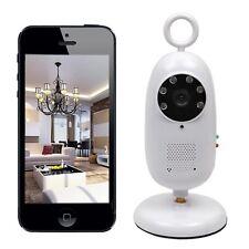 2.4GHz Wireless WiFi Smartphone Remote Video Baby Monitor IR Night Vision Camera