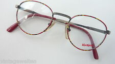 Kickers Children's Glasses Unisex Red Brown Panto Spring Clip Inexpensive New