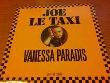 """12"""" MIX VANESSA PARADIS JOE LE TAXI  POLYDOR 885 765-1 EX+/EX+ FRANCE PS 1987"""