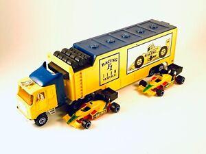 Majorette F1 Trucks  Formula 1 Racing Model Yellow  1:60 Diecast