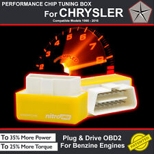 POWER BOX CAR CHIP TUNING ECU REMAPPING REMAP PERFORMANCE UPGRADE For CHRYSLER