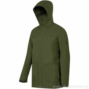 MAMMUT Men's Trovate Guide SO Hooded Jacket - GREEN - Medium/Large/XL - NWT!