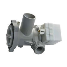 Laugenpumpe für Waschmaschinen diverser Fabrikate mit Pumpenstutzen und Filter