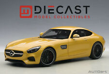 AUTOART 76314 MERCEDES-AMG GT S (YELLOW) 1:18 SCALE