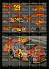 NASCAR 1/24 DECALS - 2007 CUP SERIES #29 KEVIN HARVICK REESE'S ELVIS MONTE CARLO
