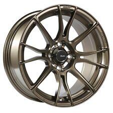 15x7 Advanti Racing Storm S2 4x100 +35 Matte Bronze Wheels (Set of 4)