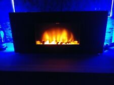 Classic Flame Wall-Mount Electric Fireplace w/Remote