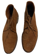 Men's ALDEN Suede Chukka Boot - Size 9 B/D - leather sole