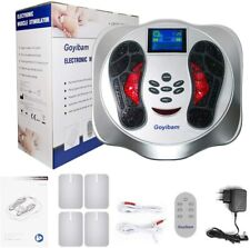 Mym Foot Circulation Device, Nerve Muscle Stimulator, EMS Foot Massager