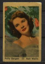 Polly Bergen Vintage Movie Film Star Trading Card No. 14