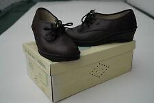 FINN COMFORT Atlanta Damen Schuhe Schnürschuhe Leder Einlagen Gr.4 37 braun NEU