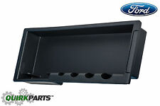 2009-2014 Ford F-150 All Flow Thru Center Console Storage Cassette Box OEM NEW
