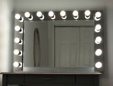 "Vanity Hollywood Makeup Mirror with 16 LED Lights, 45.5"" × 31""x 6"", Large"