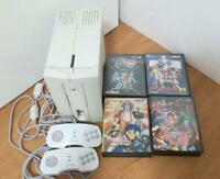 NEC Makers of Turbografx PC-FX Console Working Rare White 4 software