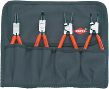 Knipex 00 19 56 Circlip Pliers Set 4 Parts 001956 tool roll piece