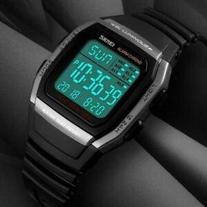 Fashion Men's Watch Military Digital Sport Watches Boy LED Electronic Wristwatch